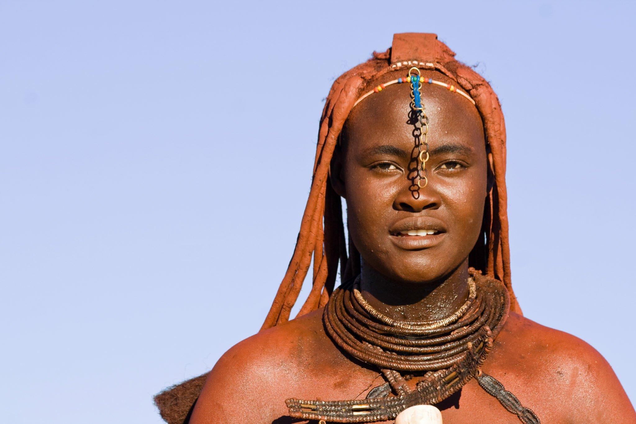 Namibia Himba woman
