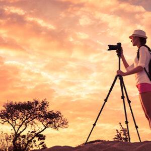 Fair Trade Safaris shooting sunsets