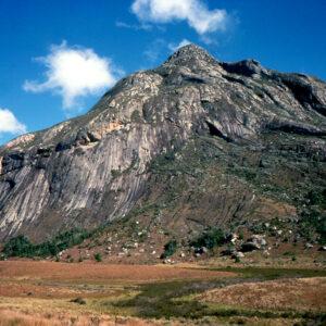 Mount Mulanje immense granite dome that rises to 9,849ft