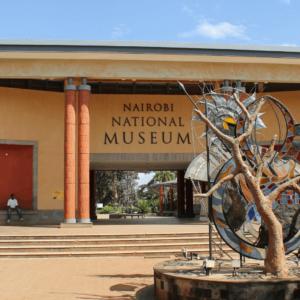Nairobi National Museum contemporary Kenyan sculptures